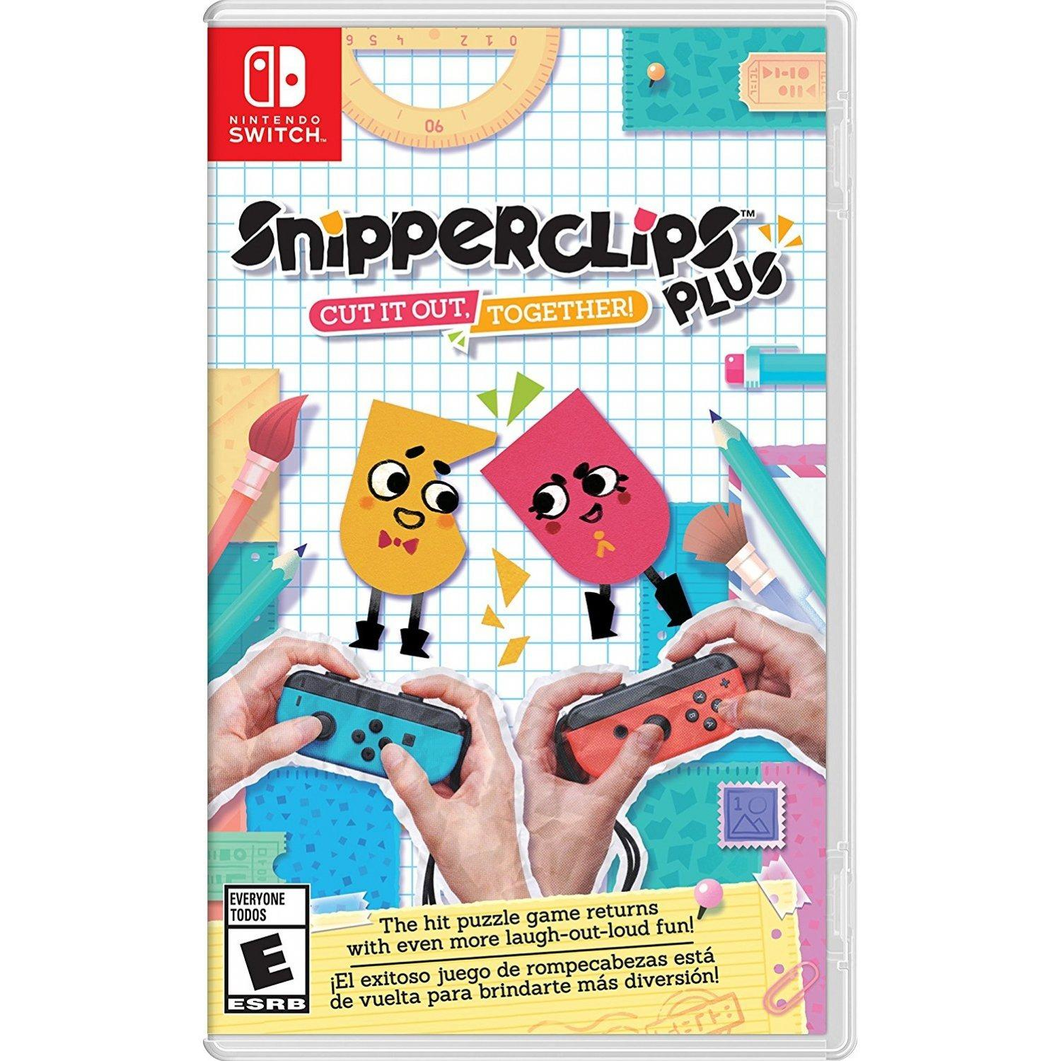 Retail Price Nintendo Switch Snipperclips Plus Cut It Out Together English