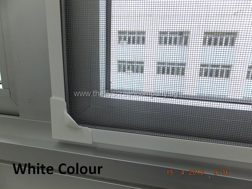 Magnetic Flyscreen DIY Kit 150cm x 120cm Black Mesh  Frame colour: White / Black / Grey / Light-Grey / Dark-Brown  Premium Insect Screen  Effective Mosquito Net / Pest Screen