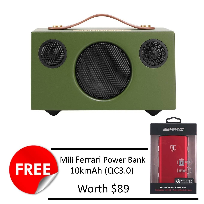 Compare Audio Pro Addon T3 Speaker Green Free Mili Ferrari 10K Mah Powerbank