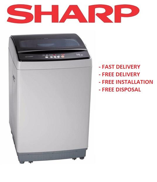 Lowest Price Sharp Esx705 7Kg Top Load Washing Machine