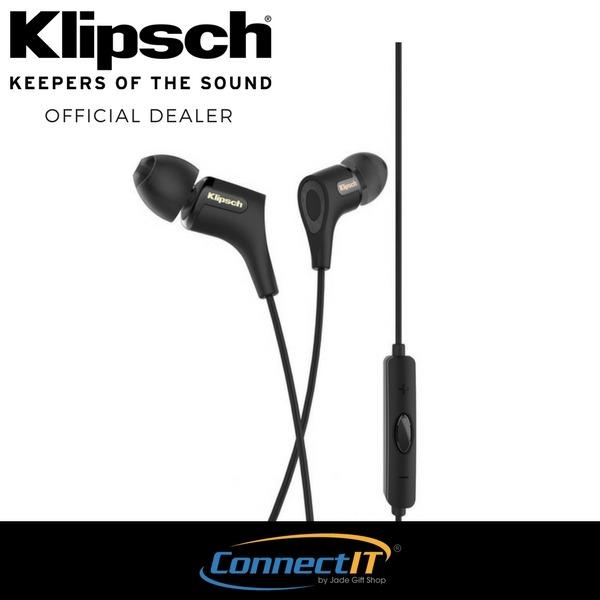 Klipsch R6i II In-Ear Headphone Black In-Ear Headphone - Black