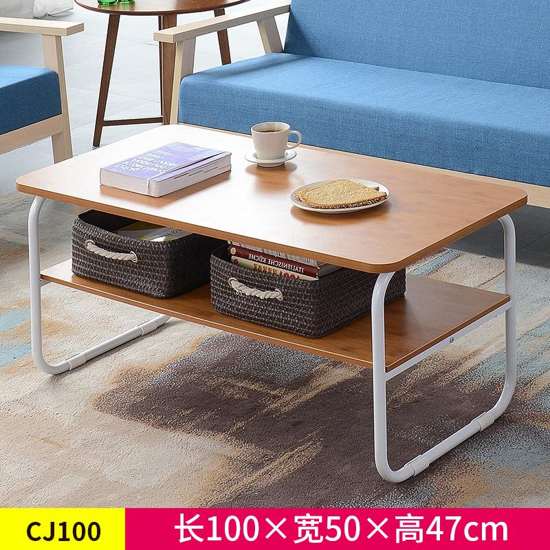 Modern minimalist small living room table coffee table