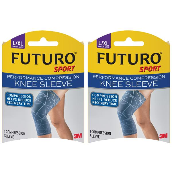 Review Bundle Of 2 3M™ Futuro™ Performance Compression Knee Sleeve Large X Large Futuro On Singapore