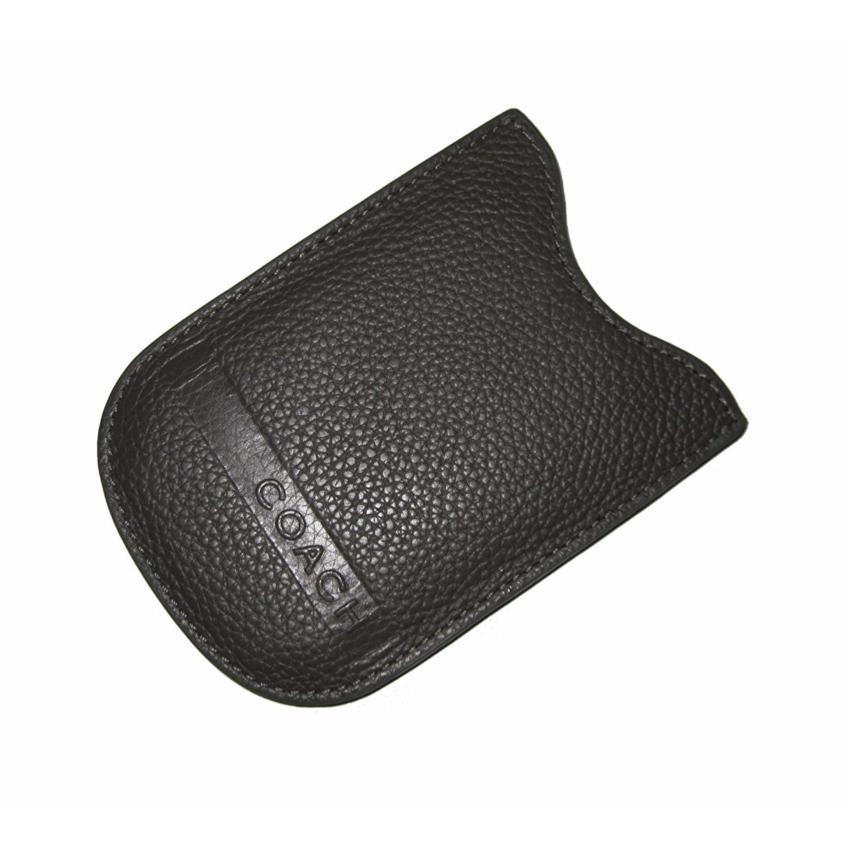 COACH F77262 PHONE/CARD CASE (SV/BLACK)