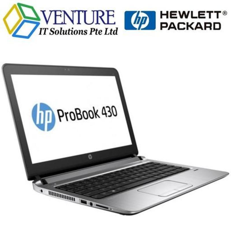 [BRAND NEW] HP PROBOOK 430 G3 i7-6500U 8GB 500GB AC8260 13.3HD WIN10 PRO