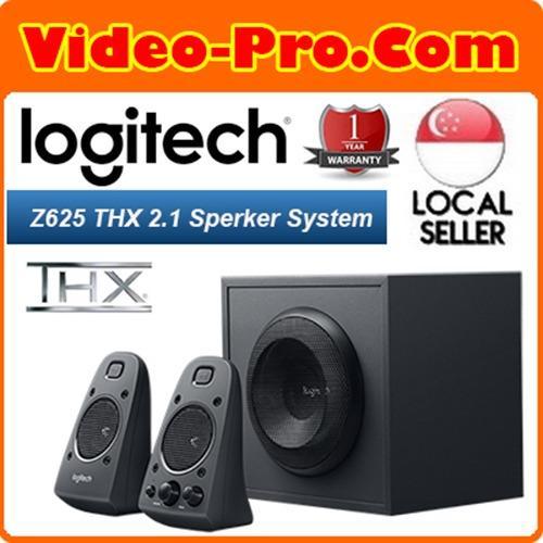 Logitech Z625 Powerful THX Certified 2.1 Computer Gaming Speaker System