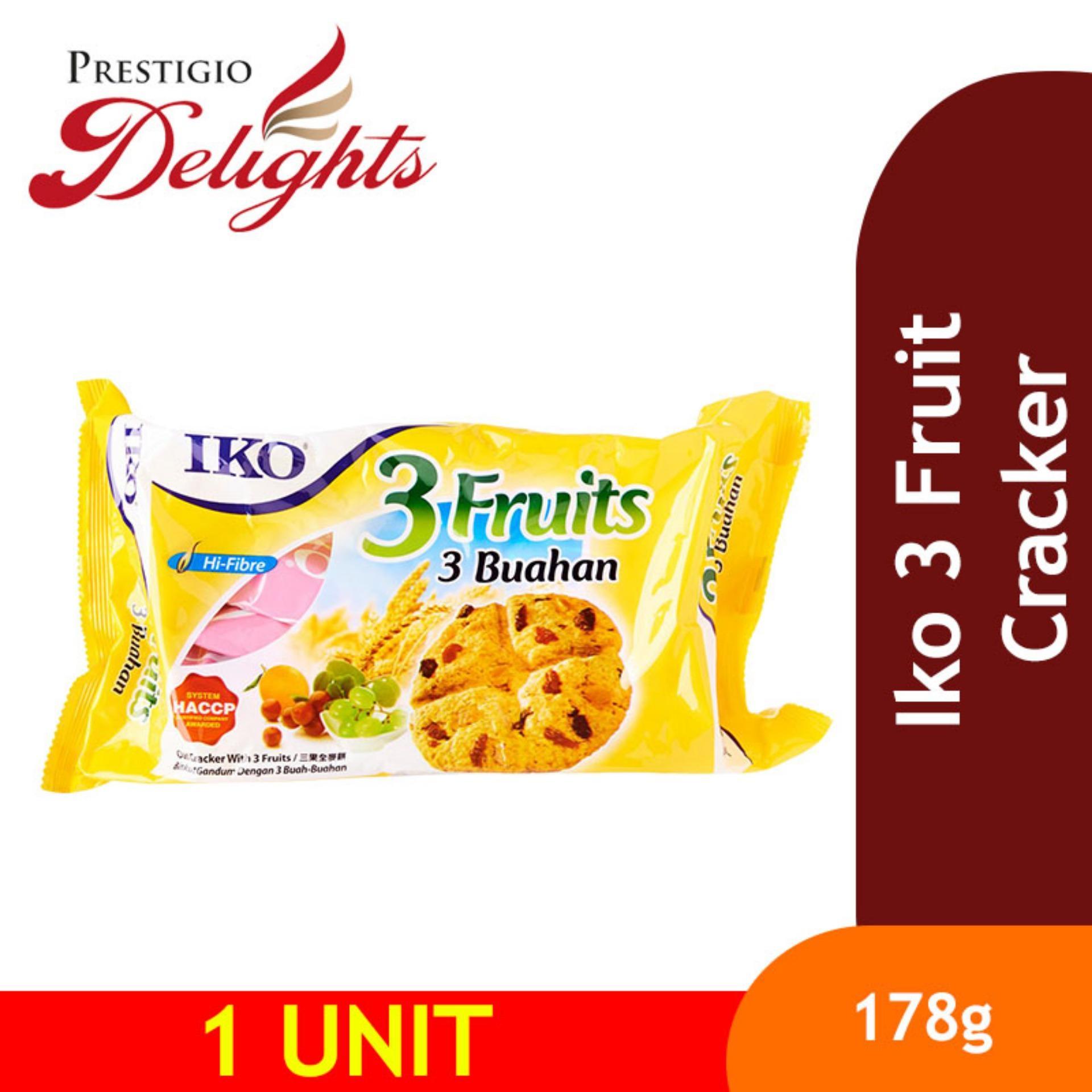 Iko 3 Fruit Cracker By Prestigio Delights.