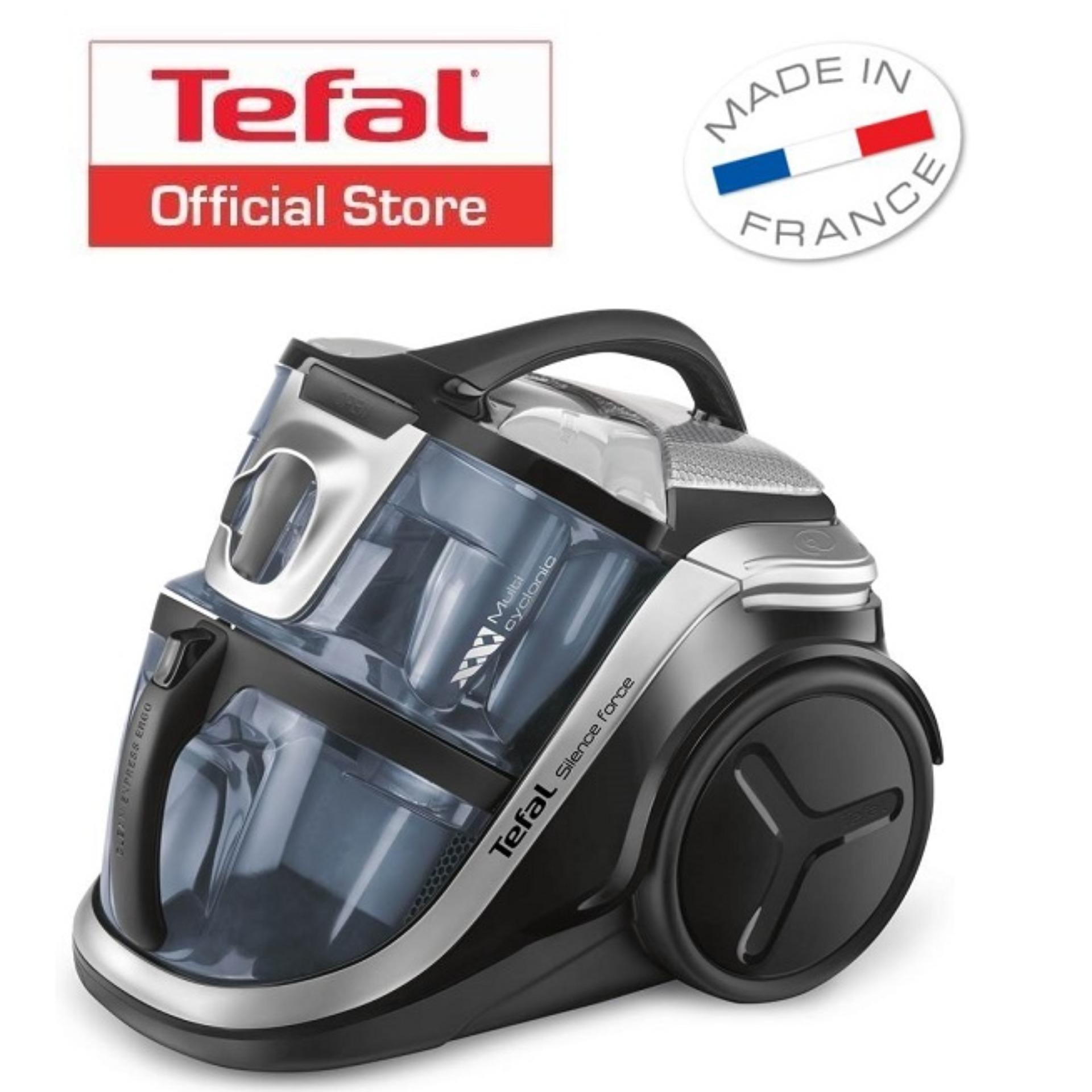 Tefal Silence Force Extreme Multi Cyclonic Bagless Vacuum Cleaner Tw8356 Singapore