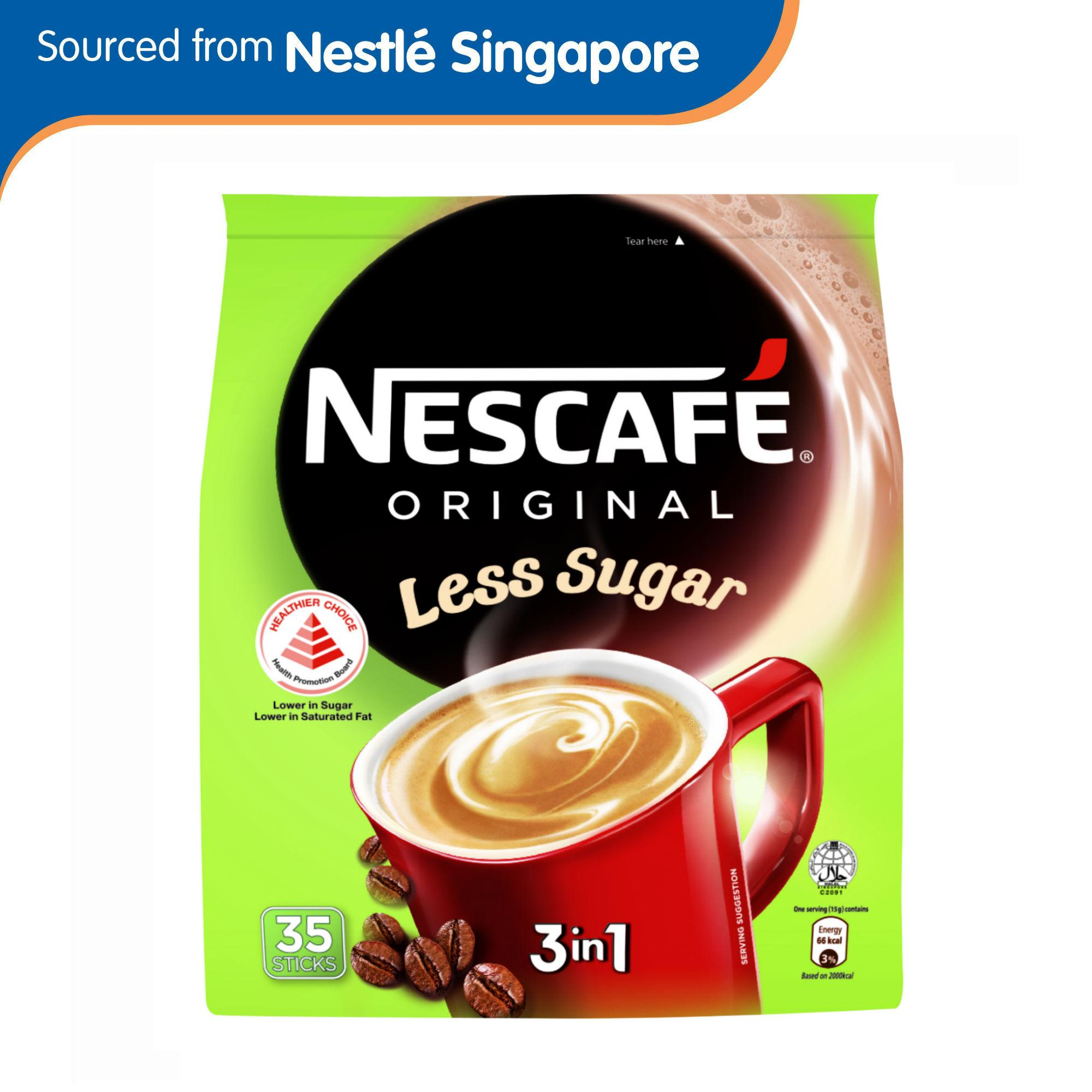 Nescafe 25% Less Sugar 3in1 35s Instant Coffee By Nestle Official Store.