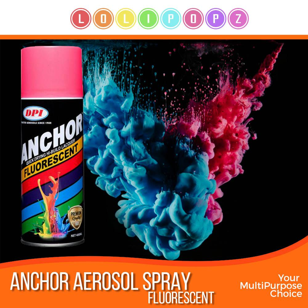 DPI Anchor Aerosol Spray Paint - Fluorescent