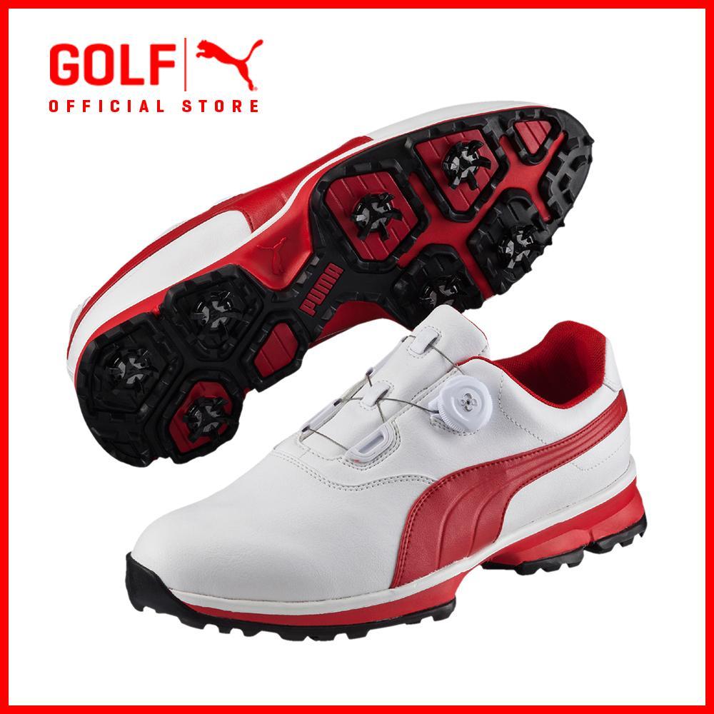 Puma Golf Men Puma Golf Ace Boa - White-High Risk Red-Black By Puma Golf Official Store.