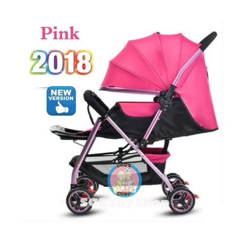 2018 Reversible Lightweight gold frame stroller pram Singapore