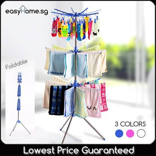 Sale 360 Degree Drying Rack Clothes Laundry Hanger Oem Cheap