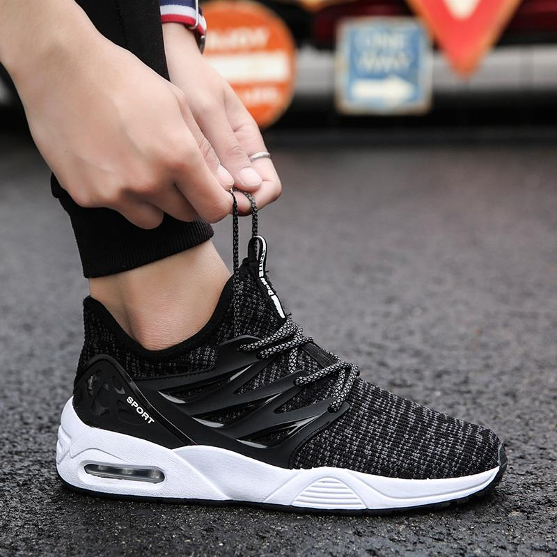 59c84cedda19 2019 New Style Spring Men Sports Casual Running Trendy Shoes Korean Style  Trend Versatile Students Shoes
