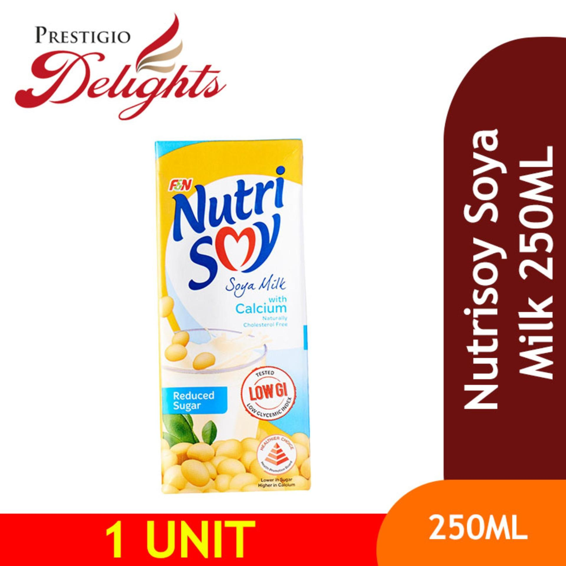 Nutrisoy Soya Milk 250ml By Prestigio Delights.