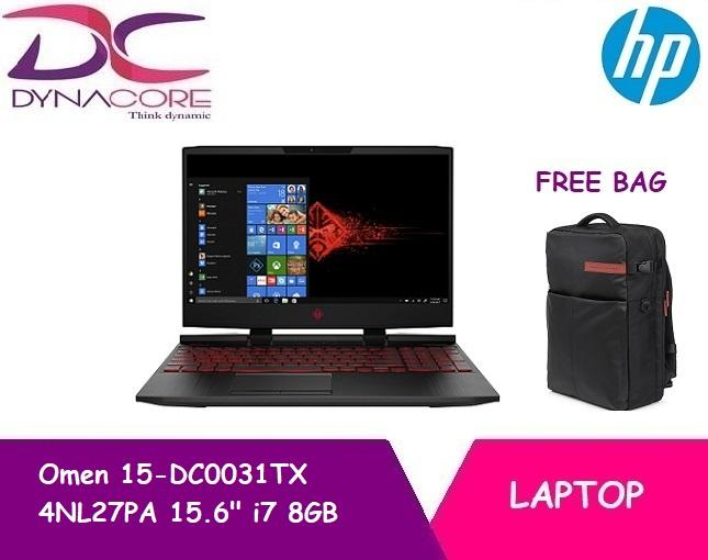 HP Omen 15-DC0031TX 4NL27PA 15.6 i7 8GB RAM Gaming Laptop