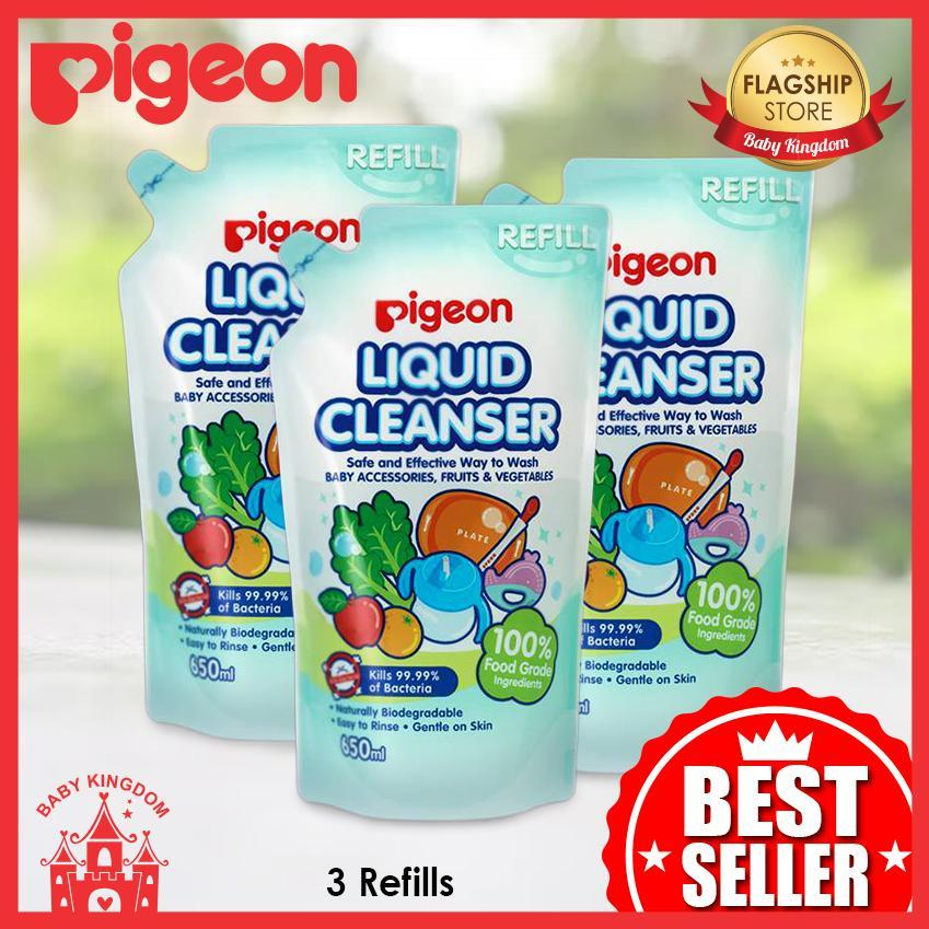 Compare Prices For Pigeon Liquid Cleanser Refill 3 Packs Bundle Deal