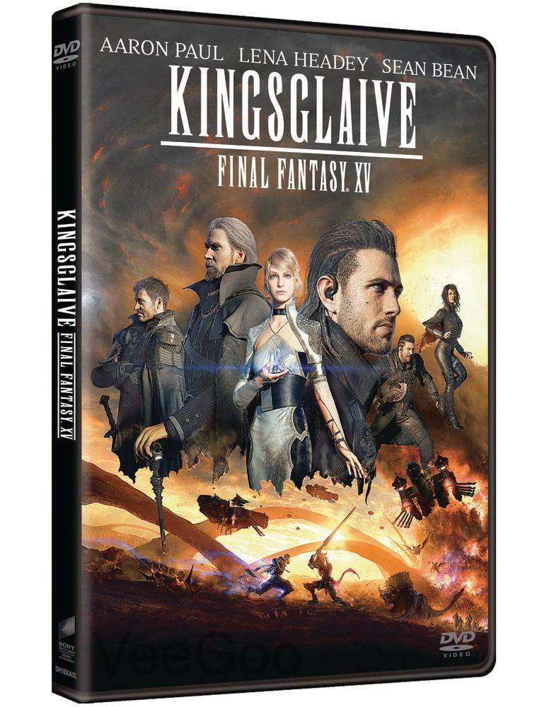 KINGSGLAIVE: FINAL FANTASY XV DVD (PG13/C3)