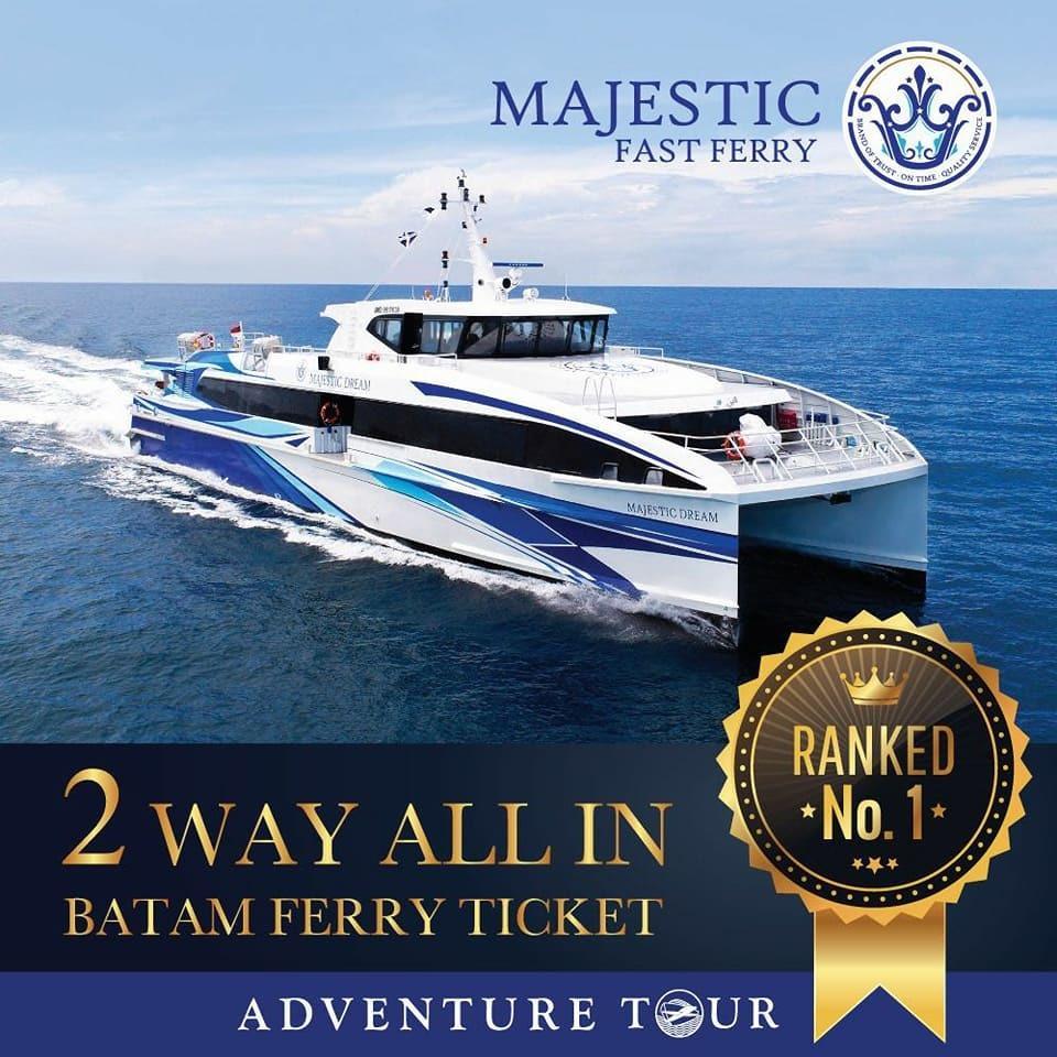 Batam 2-Way Ferry Ticket (Majestic Fast Ferry)
