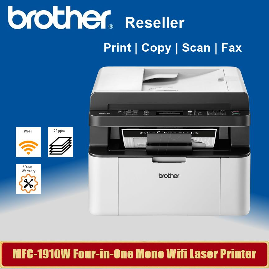 BROTHER MFC-1910W PRINTER DOWNLOAD DRIVER