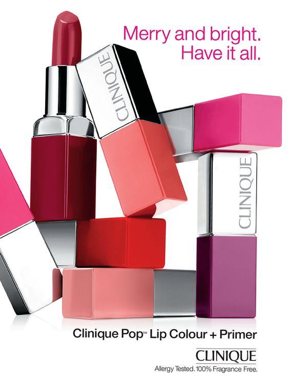 Clinique Pop Lip Colour + Primer (05 Melon Pop / 09 Sweet Pop) (travel Size) By Shicara.