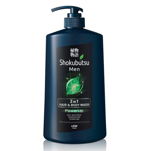 Buy Shokubutsu Men 2-in-1 Hair & Body Wash (PowerUp), 850ml Singapore
