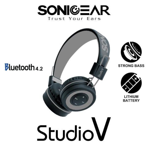Sonicgear stereo Bluetooth headset Studio V Singapore