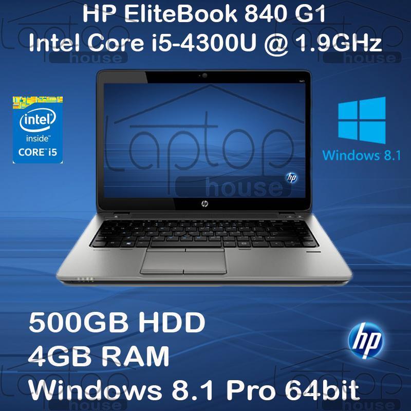 [Refurbished] HP Elitebook 840 (Intel Core i5-4200U / 500GB HDD /4GB RAM)