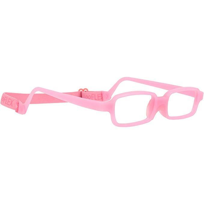 181f0ea1c68 Miraflex Children s Eyeglasses in Pink (New Baby 3) with Built-up-Bridge