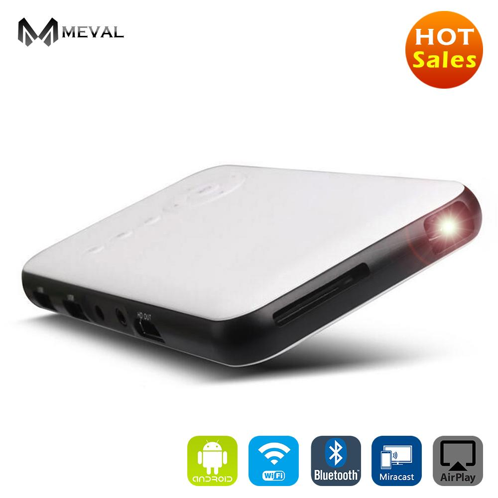 Get Cheap Meval Portable Android Projector Home Theater Cinema Full Hd 1080P S6