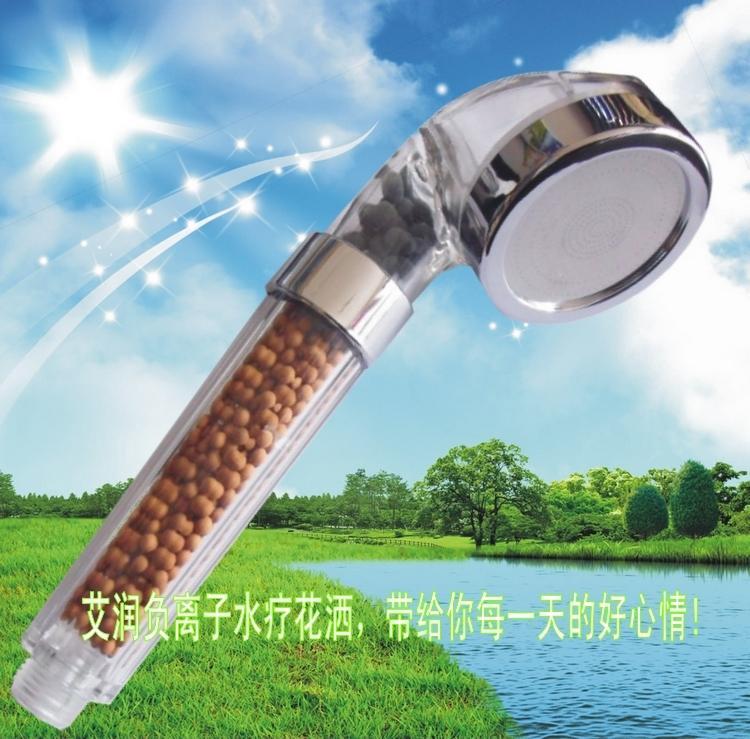 Do run Supercharge Shower Faucet Nozzle Rain Wine Bath Bathroom Pressure Bath Lotus Seedpod Single-head Hand-Held Small