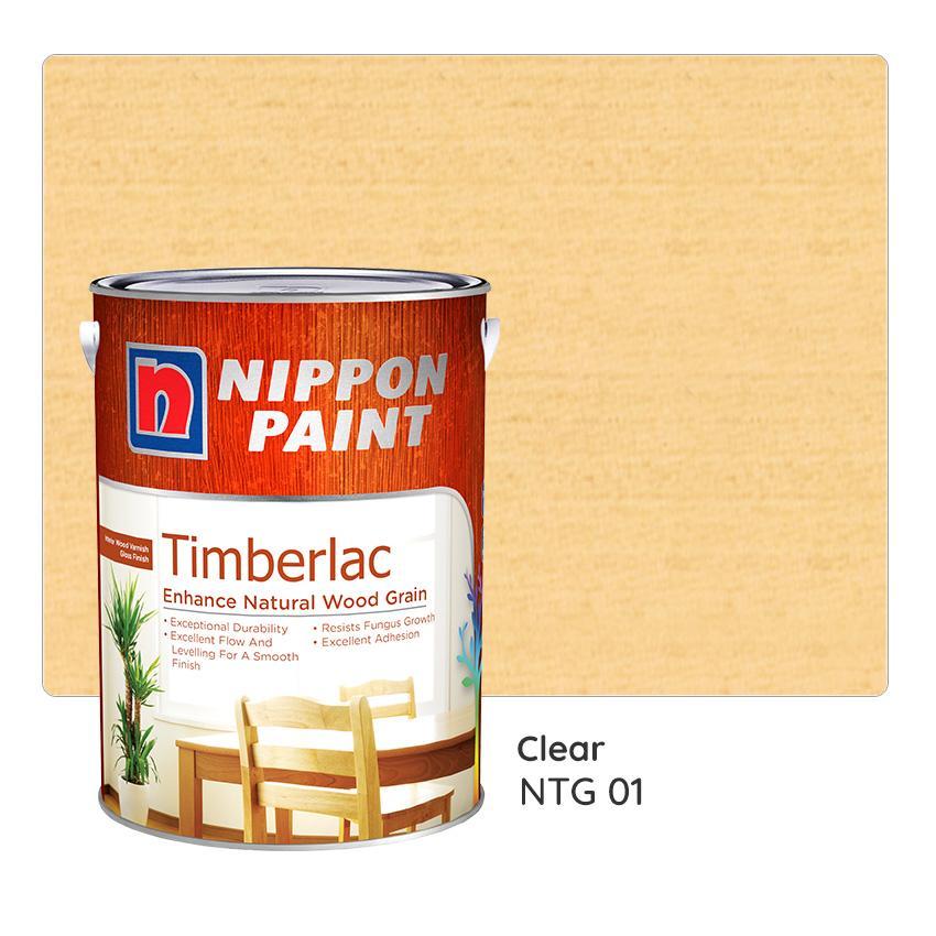 Nippon Paint Timberlac NTG 01 1L