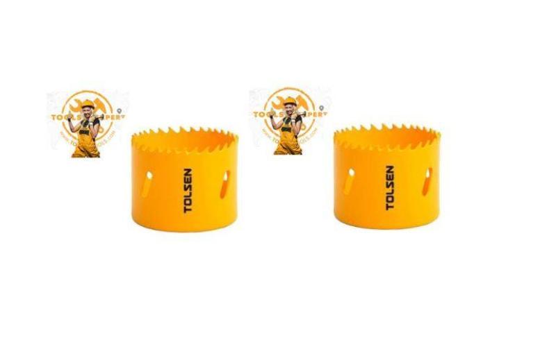 Tolsen Tools by EgHardware, 54mm Bi-metal Holesaw 2 pcs per pkt