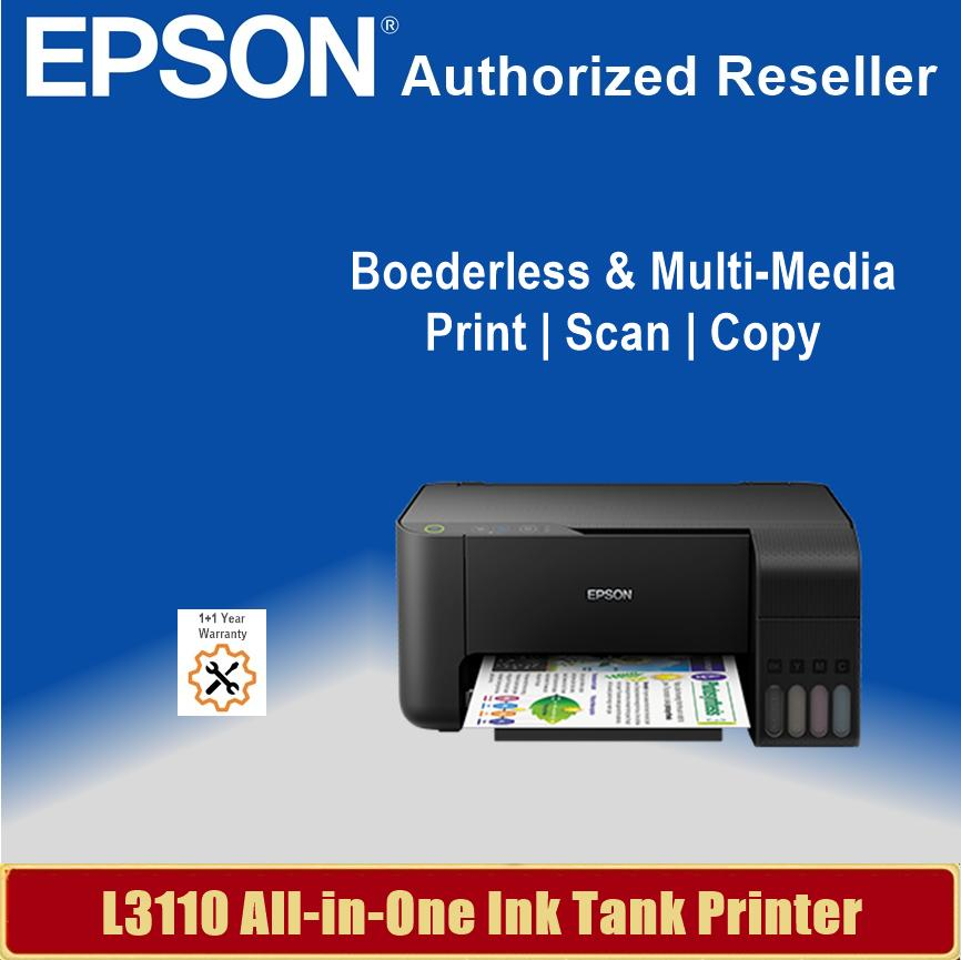 [Local Warranty] Epson EcoTank L3110 All-in-One Ink Tank Printer Singapore