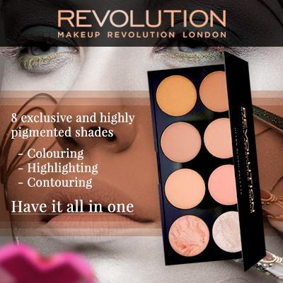 Makeup Revolution Ultra Blush Palette Hot Spice By Essential Living - Health & Beauty.