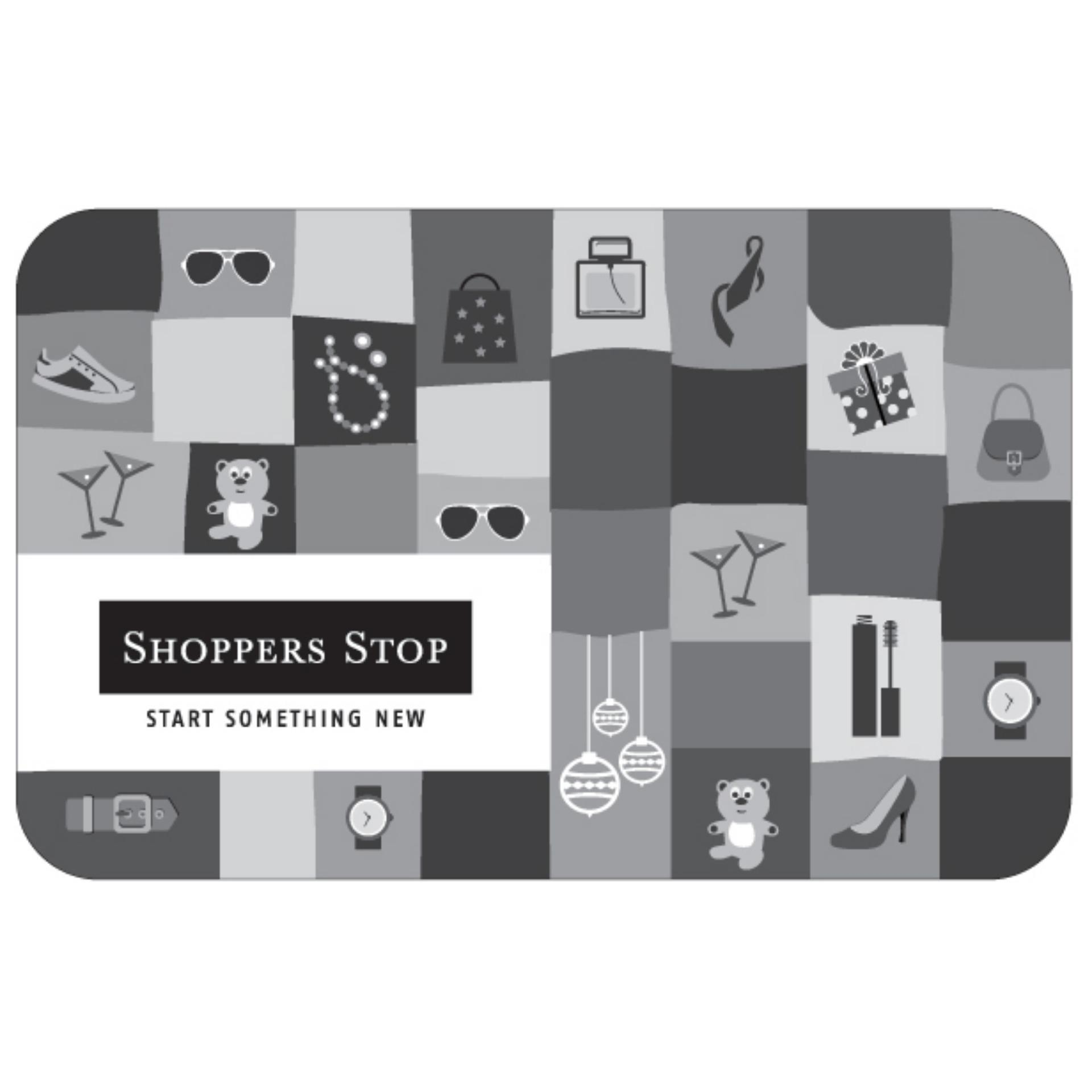 Shoppers Stop Digital Gift Cards: Rs. 4005 By Qwikcilver Store.