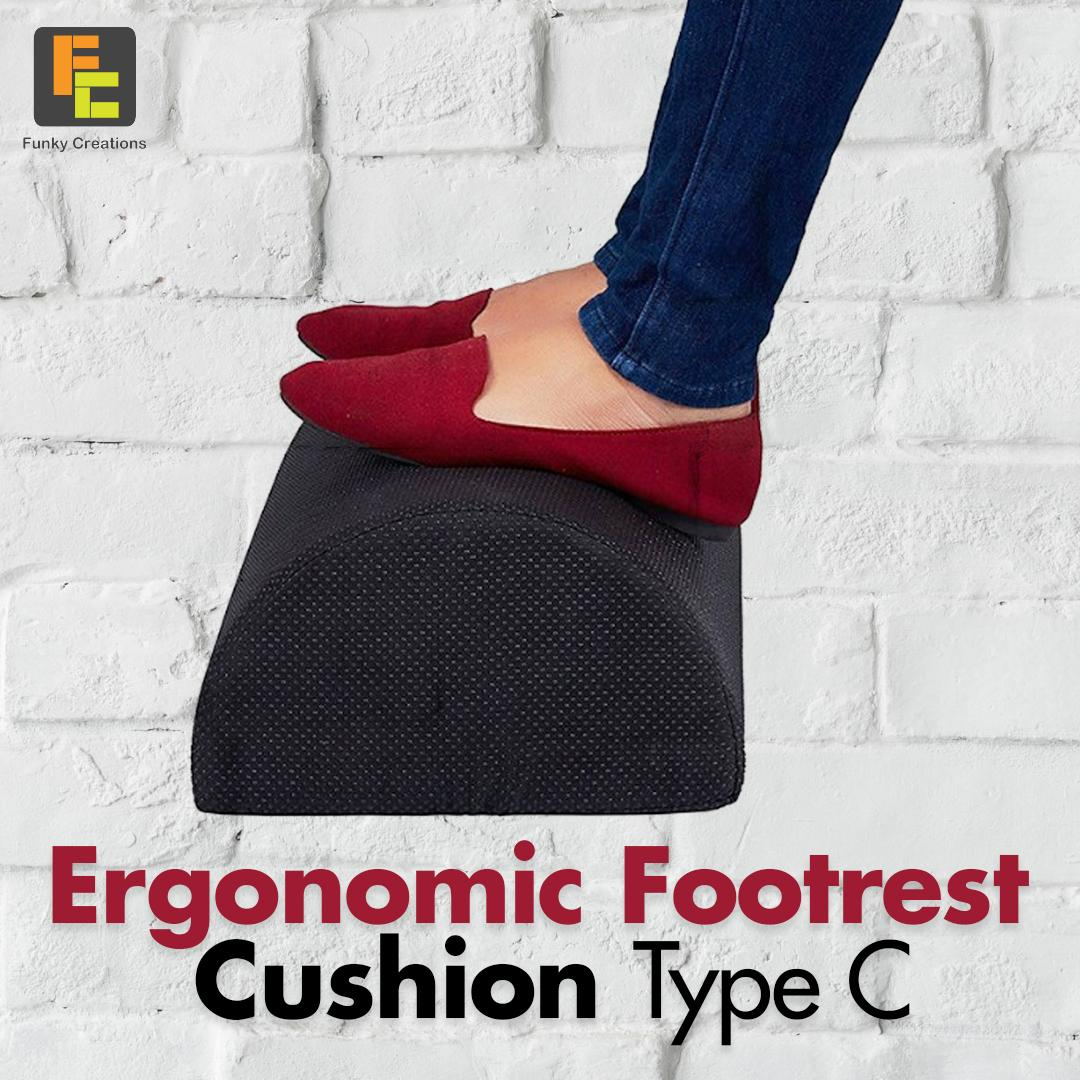 ERGONOMIC FOOT REST CUSHION TYPE C