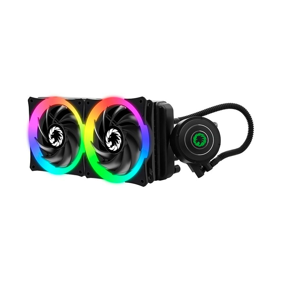 Low Price Gamemax Iceberg 240 Rgb Cpu Water Cooling System 12Cm Fan