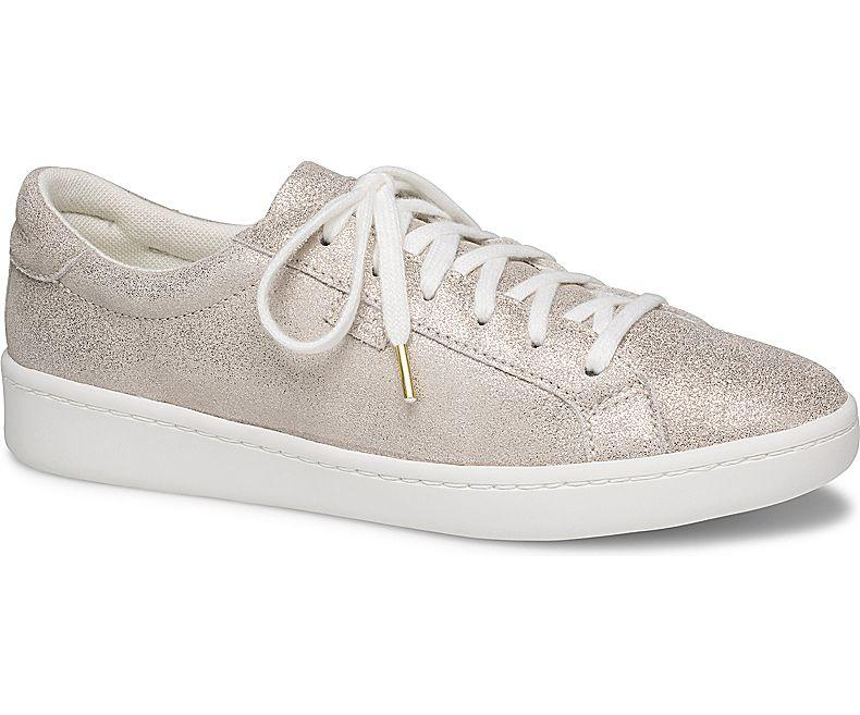 852f35d94614d3 Keds Ace Glitter Suede Women s Sneakers Champagne (WH59004)