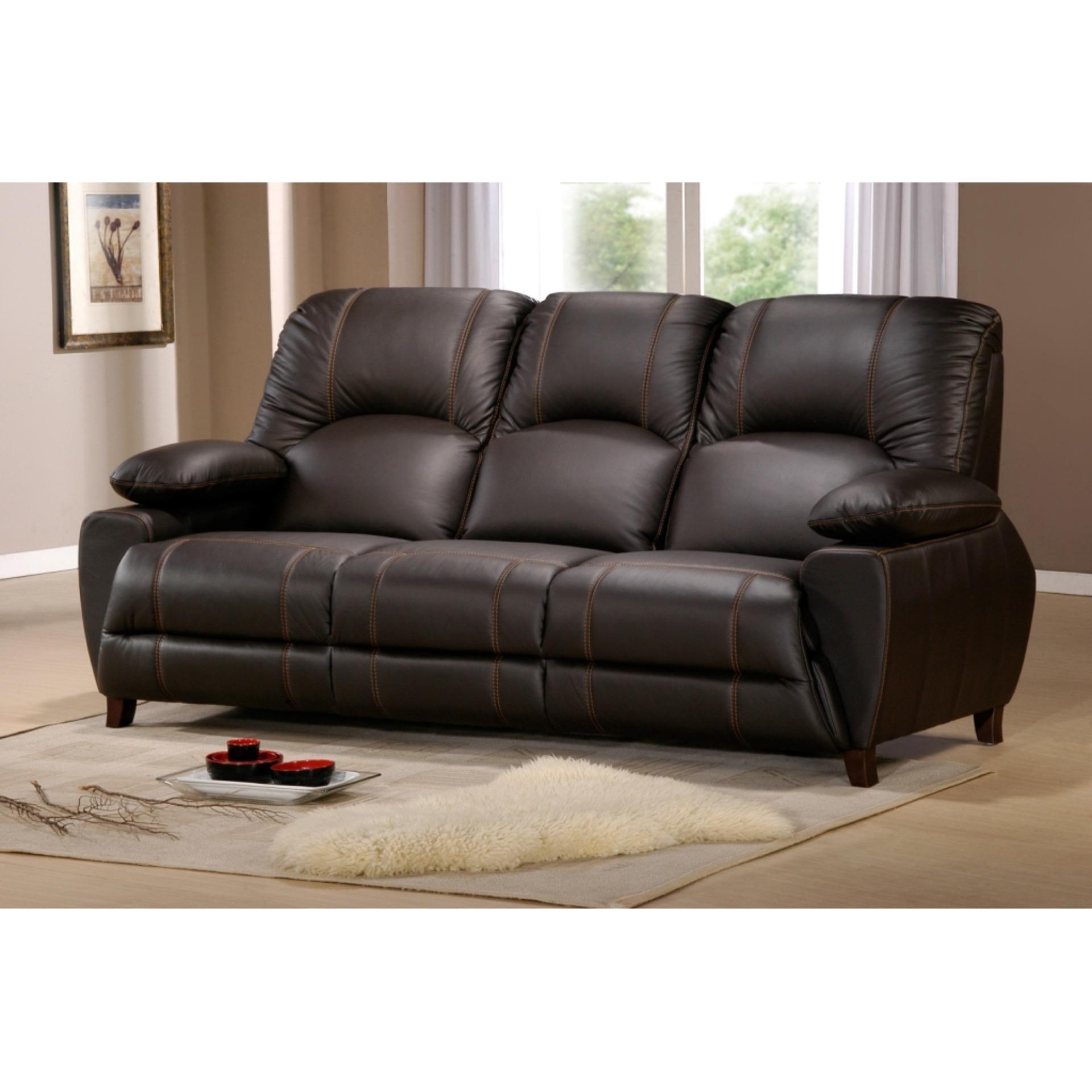 Univonna Danny 3-seater sofa cum folding cup holder
