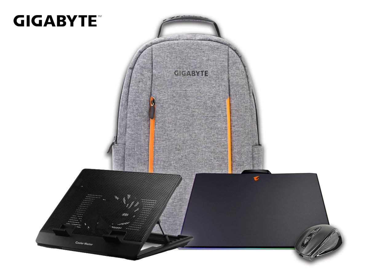 Gigabyte 4-in-1 accessories bundle for Aero 15-W8