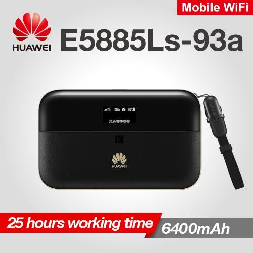 Huawei E5885 E5885ls-93a Mobile Wifi Pro 2 4g+ Mifi Cat6 300mbps 6400mah Mobile Pocket Internet Hotspot Wireless Router Rj45 Lan Ethernet Port Oled Screen On9market By On9market.