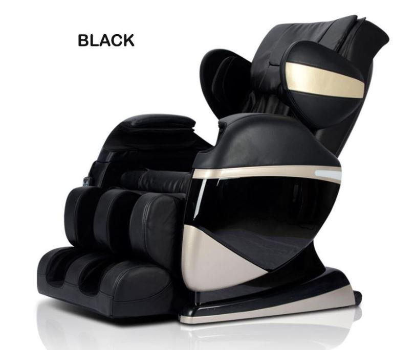 JIJI 4D Ares Black Massage Chair (Free Installation) (With 12 Month Local Seller Warranty) (SG) Free Delivery