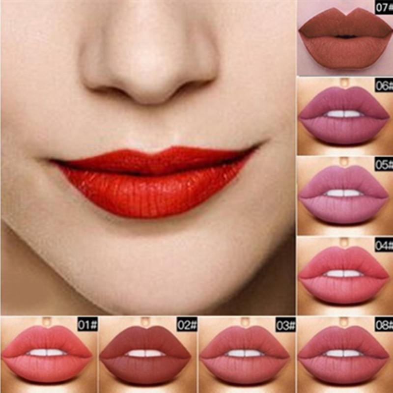 Price A Set Of 15 Color Lip Glaze Long Lasting Liquid Lipstick Matte Lip Gloss Party Makeup Beauty Aukey China