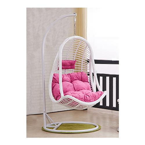 JIJI Akira Swing Chair (Outdoor Seating / Swing Chair) with cushions (Free Installation) - Balcony Swing chair/Relax Chair/ Lounge Chair/ Furniture (SG) Free Delivery