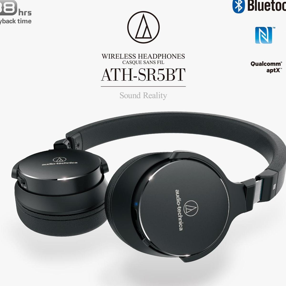 Audio Technica Ath Sr5bt High Resolution Wireless On Ear Headphones Earphone Solid Bass Cks1100is Singapore
