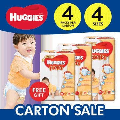 Carton Sales Huggies Gold Pants 38 S Xl Free 3 Pack Friso 33G Compare Prices