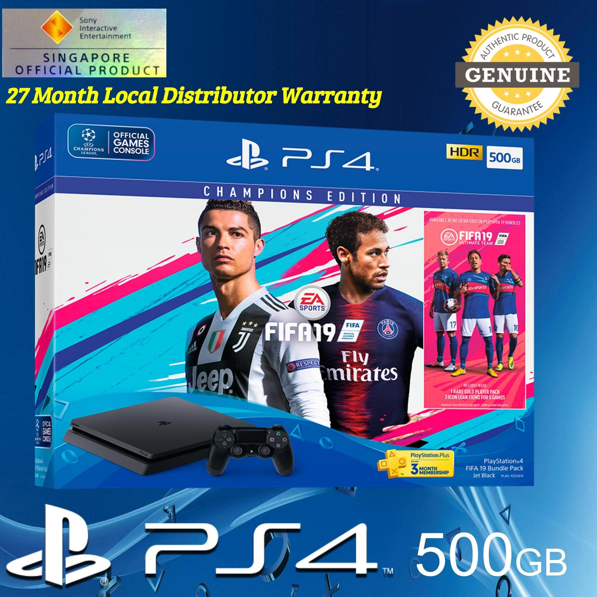 Destiny Ps4 Console Bundle Price In Singapore Sony Playstation 4 Slim 500gb Hits Jet Black Region 3 Fifa 19 With Months Ps Plus And 27 Warranty