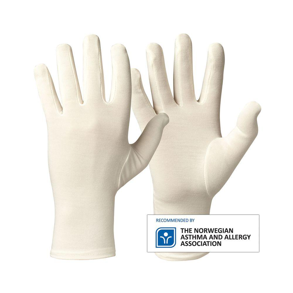 Comfortable Adult Bamboo Glove For Eczema, Dry, Sensitive Skin For Protection By Skinshare Singapore.