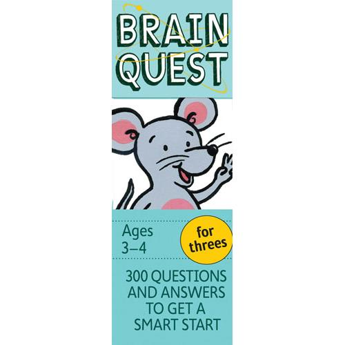 Brain Quest For Threes (4Th Ed )